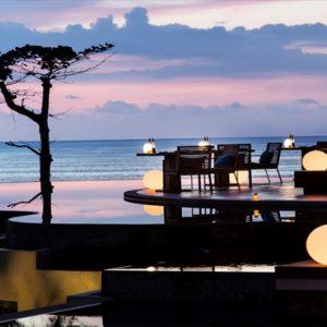Thailand Honeymoon Packages Pullman Phuket Arcadia Naithon Beach Restaurant At Night