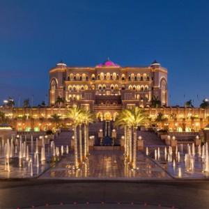 Abu Dhabi Honeymoon Packages Emirates Palace Exterior
