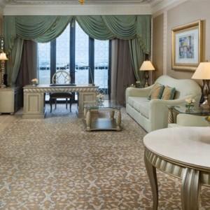 Abu Dhabi Honeymoon Packages Emirates Palace Khaleej Suite 2