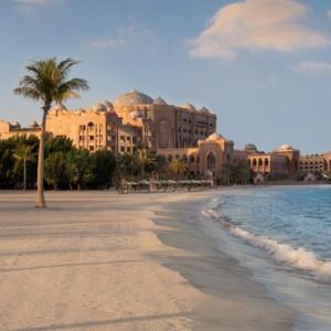Abu Dhabi Honeymoon Packages Emirates Palace Beach