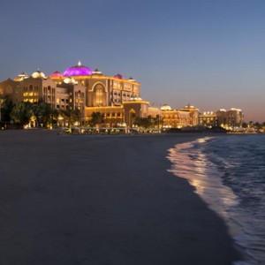 Abu Dhabi Honeymoon Packages Emirates Palace Beach 2