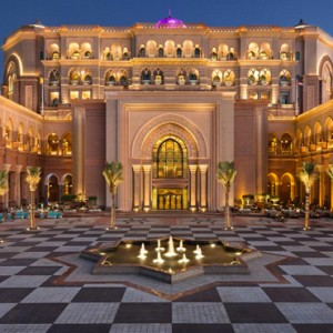 Abu Dhabi Honeymoon Packages Emirates Palace Exterior 2