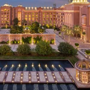 Abu Dhabi Honeymoon Packages Emirates Palace Exterior 3