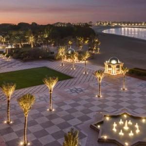 Abu Dhabi Honeymoon Packages Emirates Palace Exterior 4