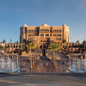 Abu Dhabi Honeymoon Packages Emirates Palace Exterior 5