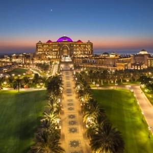 Abu Dhabi Honeymoon Packages Emirates Palace Exterior 6