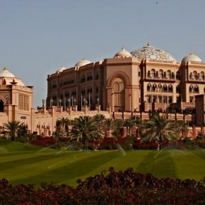 Abu Dhabi Honeymoon Packages Emirates Palace Gardens