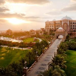 Abu Dhabi Honeymoon Packages Emirates Palace Golf