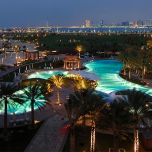 Abu Dhabi Honeymoon Packages Emirates Palace Pool