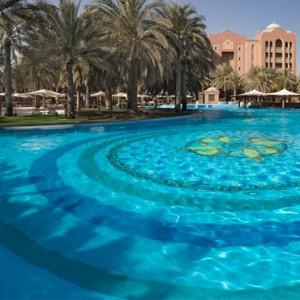 Abu Dhabi Honeymoon Packages Emirates Palace Pool 2