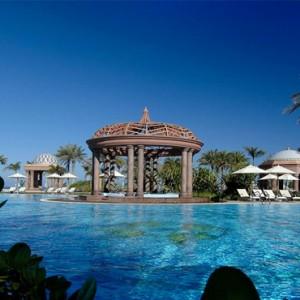 Abu Dhabi Honeymoon Packages Emirates Palace Pool 3