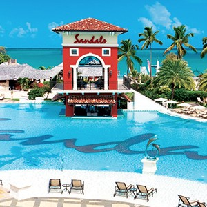 pools - Sandals Antigua Grande Resort and Spa - Luxury Antigua Honeymoons