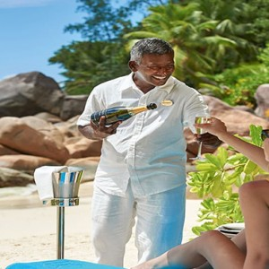 Constance Lemuria - Luxury Seychelles Honeymoon Packages - Beach gazebo
