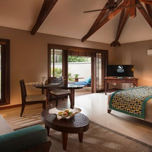 Constance Lemuria - Luxury Seychelles Honeymoon Packages - Beach villa with pool