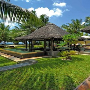 Constance Lemuria - Luxury Seychelles Honeymoon Packages - Beach villa with pool beach access