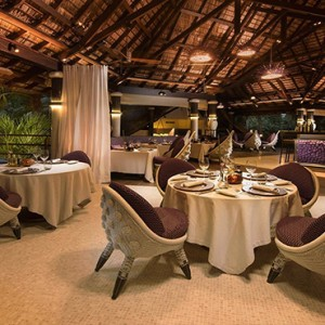 Constance Lemuria - Luxury Seychelles Honeymoon Packages - Diva Restaurant interior