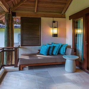 Constance Lemuria - Luxury Seychelles Honeymoon Packages - Junior Suite balcony