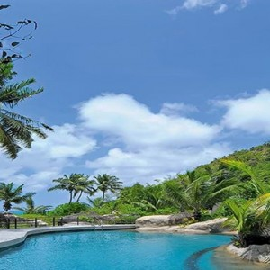 Constance Lemuria - Luxury Seychelles Honeymoon Packages - Pool view