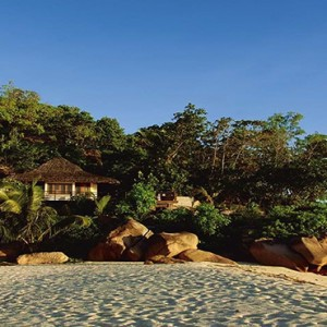 Constance Lemuria - Luxury Seychelles Honeymoon Packages - Presidential villa beach access
