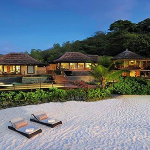 Constance Lemuria - Luxury Seychelles Honeymoon Packages - Presidential villa beach access1