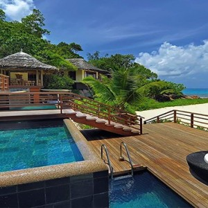 Constance Lemuria - Luxury Seychelles Honeymoon Packages - Presidential villa exterior