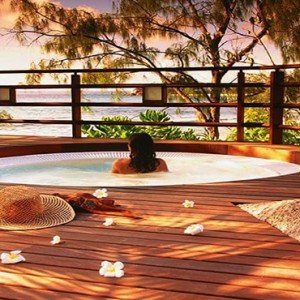 Constance Lemuria - Luxury Seychelles Honeymoon Packages - Presidential villa jacuzzi