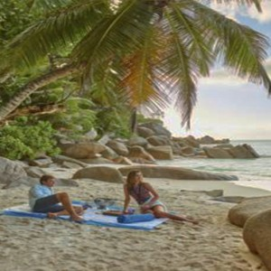 Constance Lemuria - Luxury Seychelles Honeymoon Packages - Romantic beach picnic