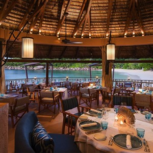 Constance Lemuria - Luxury Seychelles Honeymoon Packages -The Nest Restaurant
