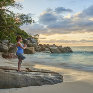 Constance Lemuria - Luxury Seychelles Honeymoon Packages - Yoga