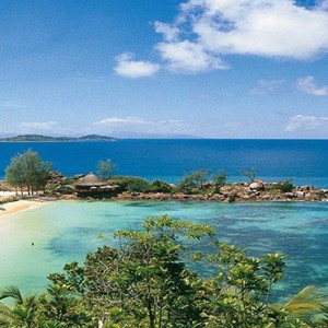 Constance Lemuria - Luxury Seychelles Honeymoon Packages - aerial view3