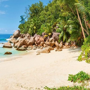 Constance Lemuria - Luxury Seychelles Honeymoon Packages - beach gazebo1