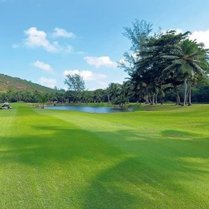 Constance Lemuria - Luxury Seychelles Honeymoon Packages - golf course