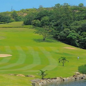 Constance Lemuria - Luxury Seychelles Honeymoon Packages - golf course1