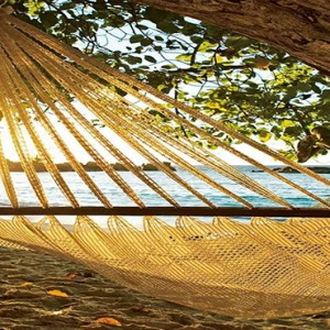 Constance Lemuria - Luxury Seychelles Honeymoon Packages - hammock