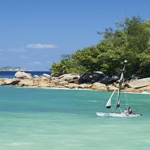 Constance Lemuria - Luxury Seychelles Honeymoon Packages - sailing