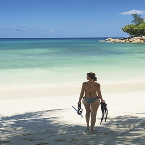Constance Lemuria - Luxury Seychelles Honeymoon Packages - snorkeling