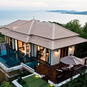Thailand Honeymoon Package Banyan Tree Samui Horizon Hillcrest Pool Villa1