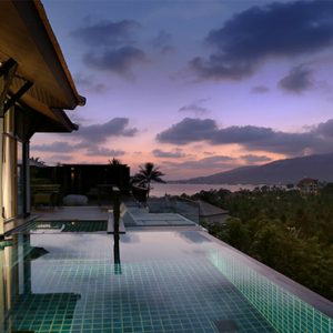 Thailand Honeymoon Package Banyan Tree Samui Horizon Hillcrest Pool Villa2