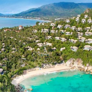 Thailand Honeymoon Package Banyan Tree Samui Hotel Aerial View