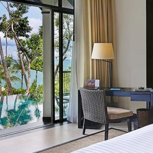 Thailand Honeymoon Package Banyan Tree Samui Partial Ocean View Pool Villa