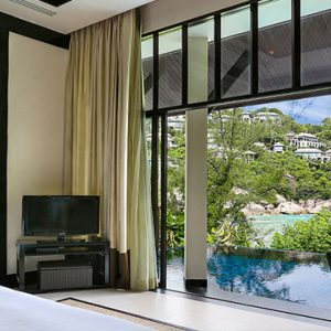 Thailand Honeymoon Package Banyan Tree Samui Partial Ocean View Pool Villa2
