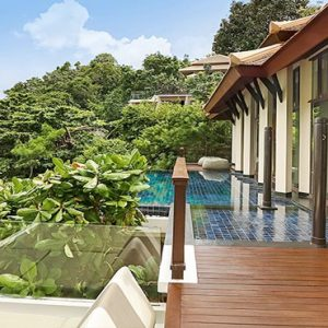 Thailand Honeymoon Package Banyan Tree Samui Partial Ocean View Pool Villa3
