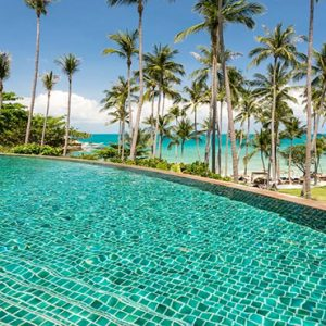 Thailand Honeymoon Package Banyan Tree Samui Pool Bar