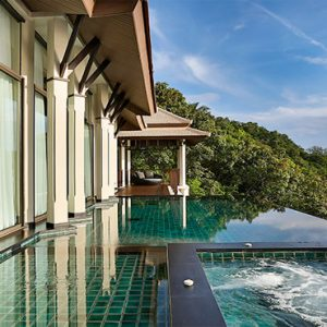 Thailand Honeymoon Package Banyan Tree Samui Royal Banyan Ocean Pool Villa1