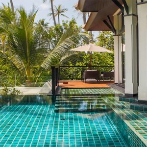 Thailand Honeymoon Package Banyan Tree Samui Spa Sanctuary Pool Villa2