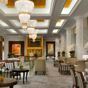champagne bar 2 - shangri la singapore - luxury singapore honeymoon packages