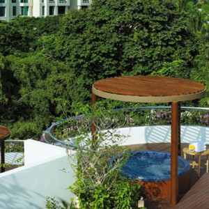 garden wing- shangri la singapore - luxury singapore honeymoon packages