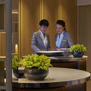horizon lounge - shangri la singapore - luxury singapore honeymoon packages