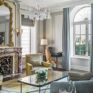Luxury New York holiday The Plaza New York Grand Penthouse Two Bedroom Terrace Suite