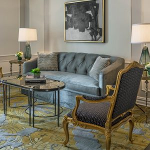 Luxury New York holiday The Plaza New York Pulitzer Fifth Avenue One Bedroom Suite King 2